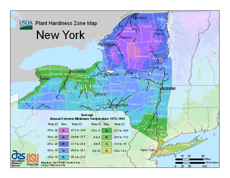 Hardiness Map - GreenScapes Garden Center & Landscape Co.